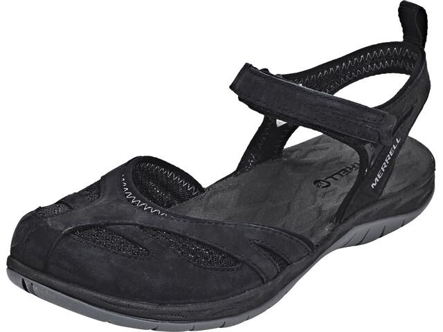 Merrell Siren Wrap Q2 Sandalen Dames zwart